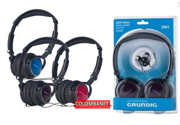 Set 2 Cuffie Grundig Deep Bass
