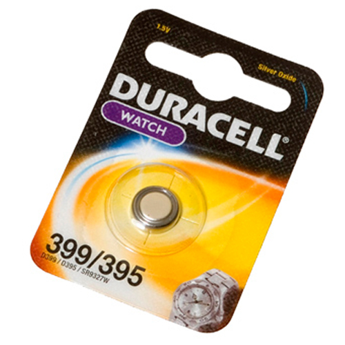 PILA DURACELL WATCH 395/399 1,5V BLISTER 1 PZ